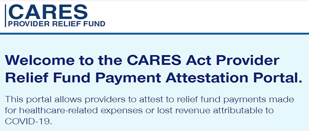 Cares Provider Relief Fund