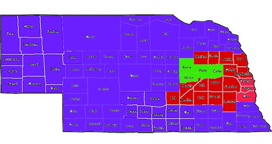 Directed Health Measures Nebraska Counties